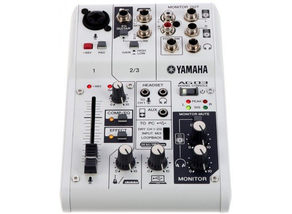 Interfaz de audio USB Yamaha AG-03