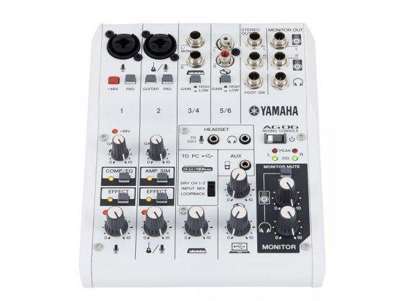 Interfaz de audio USB Yamaha AG-06