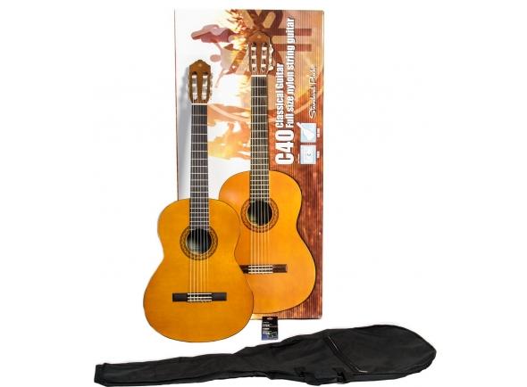 Guitarra clasica Yamaha C40 Standard Pack