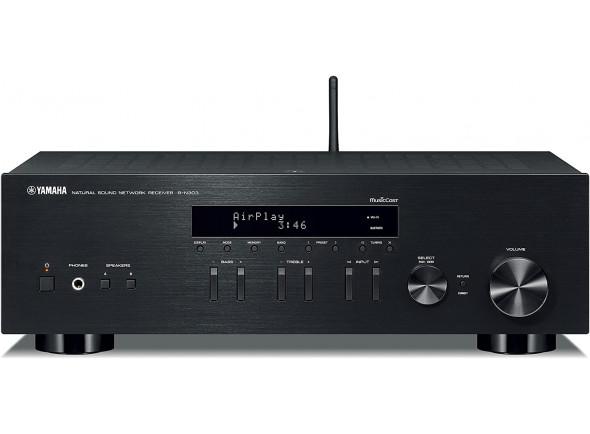 Receptores de Áudio / Vídeo Yamaha R-N303 Black