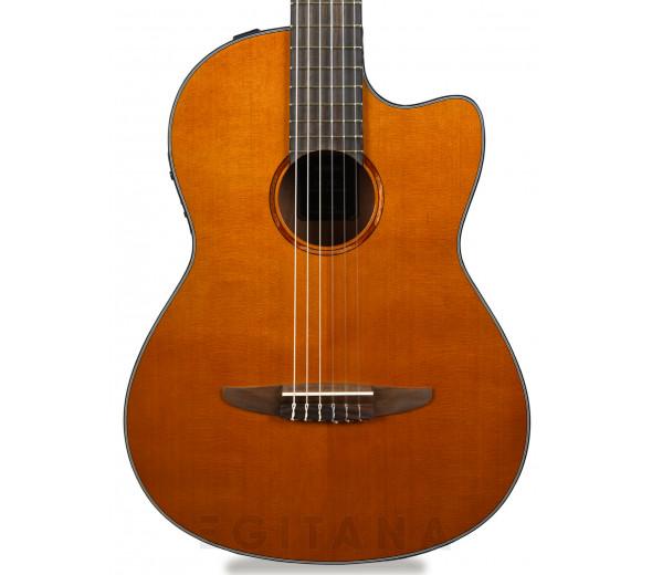 Guitarras clásicas electrificadas Yamaha NCX1C NAT