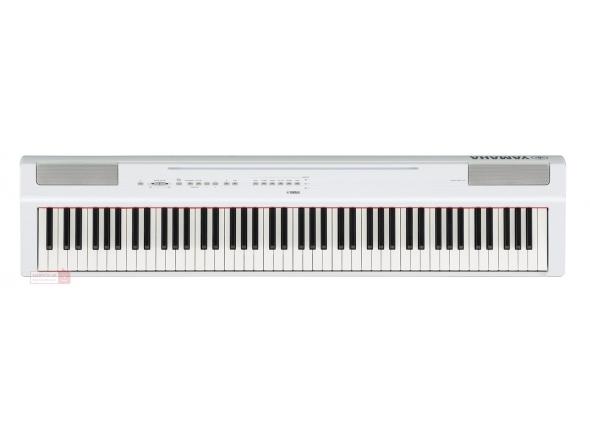 Pianos digitales para muebles Yamaha P-125WH