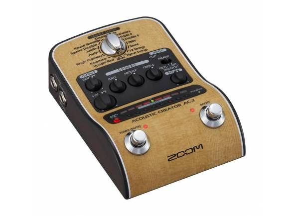 Efectos de guitarra acústica Zoom AC-2