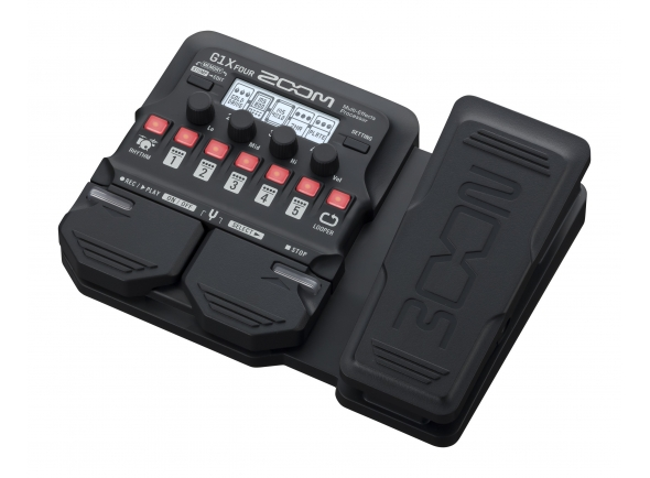 Pedales de guitarra electrica Zoom G1X Four Multi Effect-Pedal